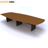 3dsmax table meeting room