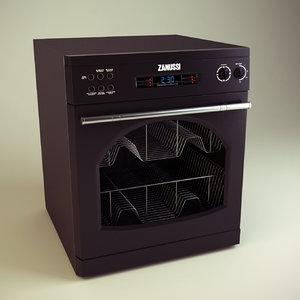 dishwasher dish washer 3d model