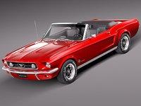 lwo mustang 1967 antique muscle car