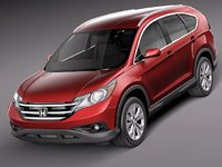 honda cr-v 2012 3d 3ds