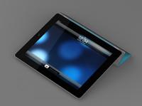 ipad smart cover 3d model
