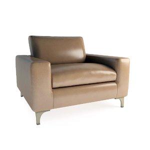 3d oak armchair sc 1008