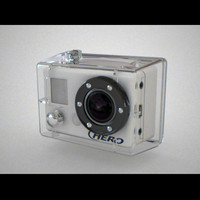 gopro hero hd 3d max
