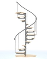 spiral staircase 3d 3ds