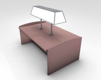 3d model library table