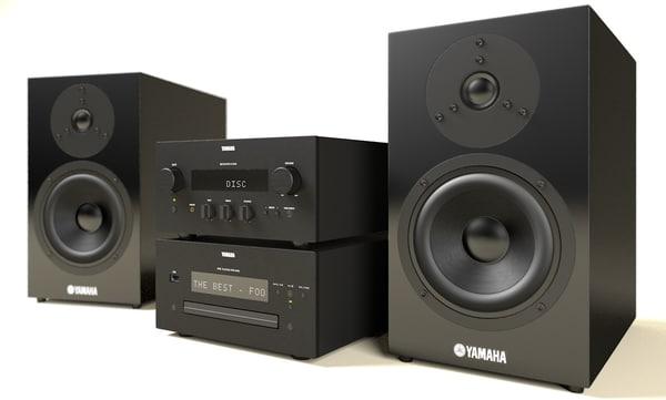 3d yamaha mcr 840