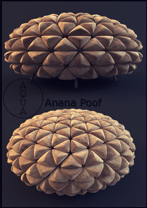aqua anana poof max