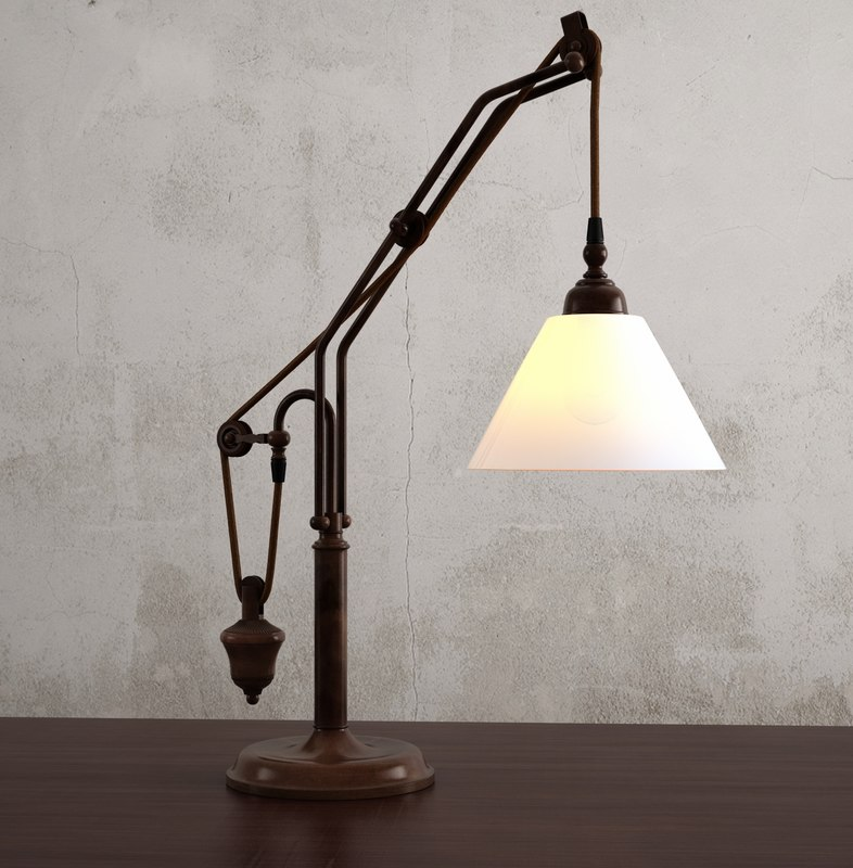 max counterweight table lamp