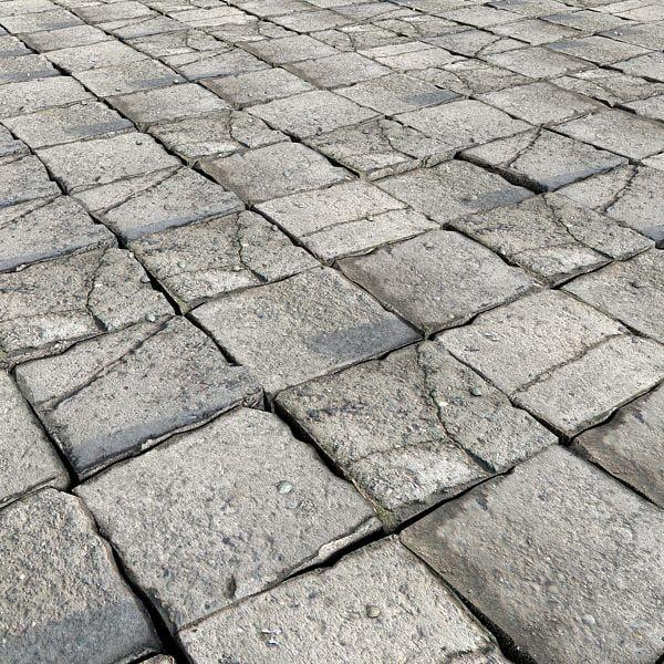 3ds max stone pavement
