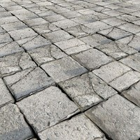 3ds max stone pavement