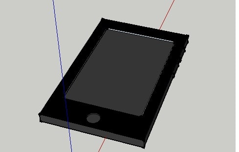 free mobile phone 3d model