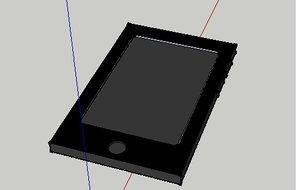 free mobile phone 3d model