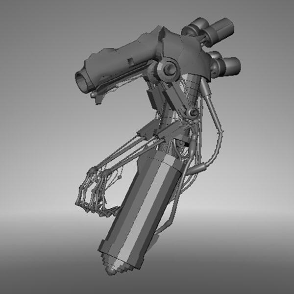 maya conceptgun gun concept