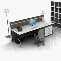 Modern Office Set 02