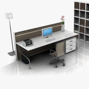 maya office set 02
