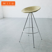 3d model of allermuir jo-jo bar stool