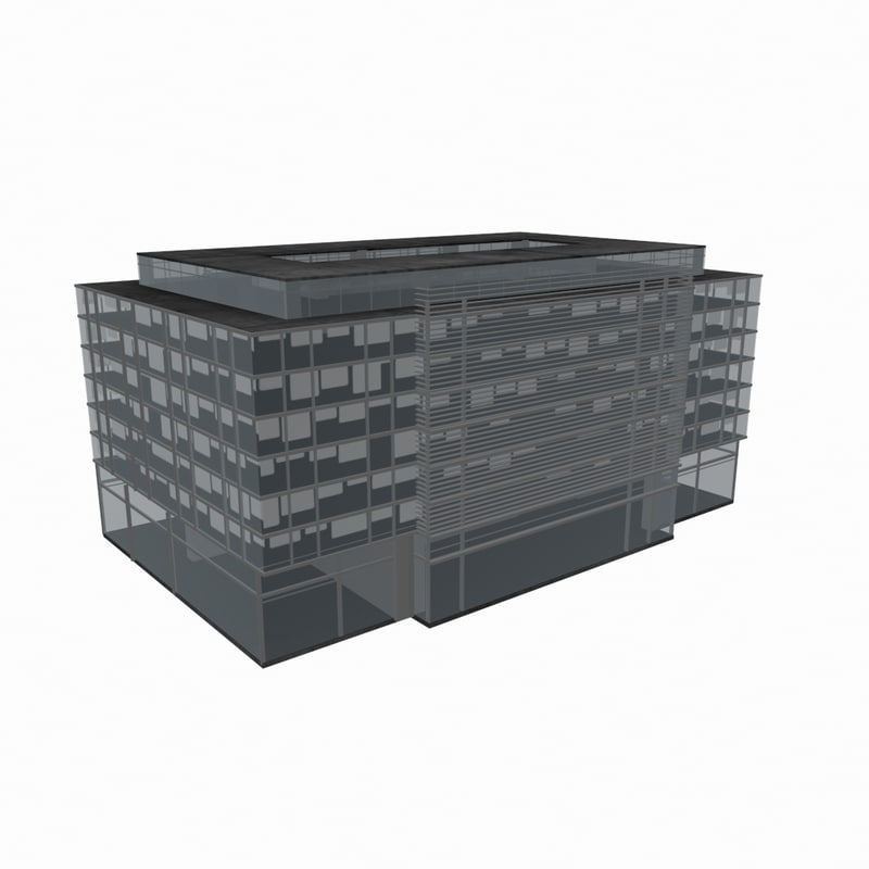 residential office building model
