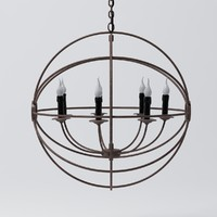 3d model foucault s iron orb
