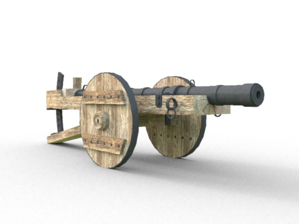 dae medieval cannon
