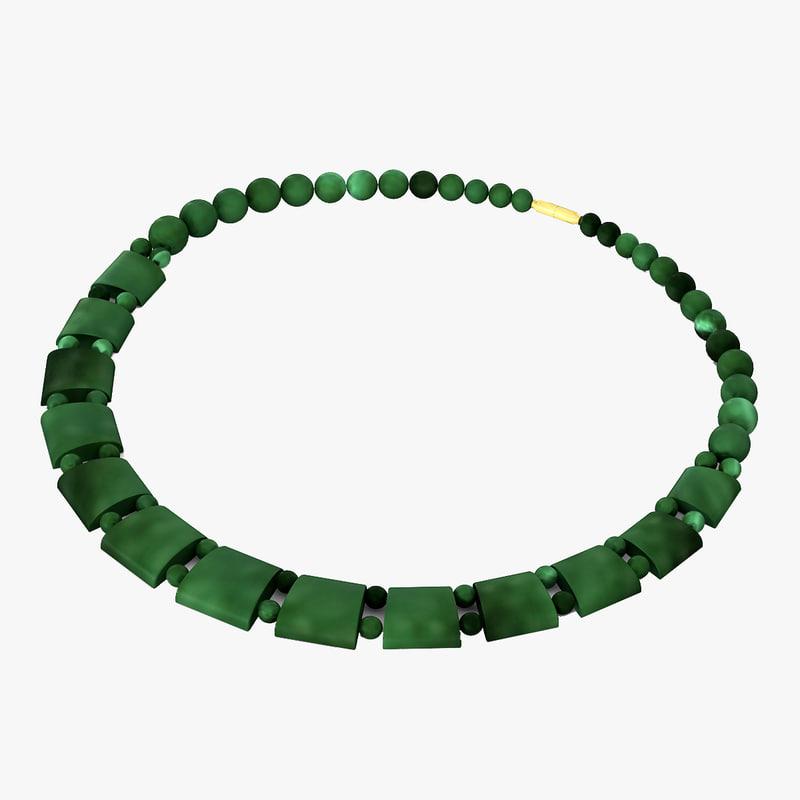 3d necklace 3