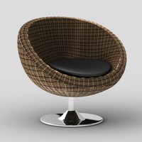 oliana swivel chair 3d model
