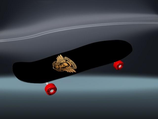 maya skateboard