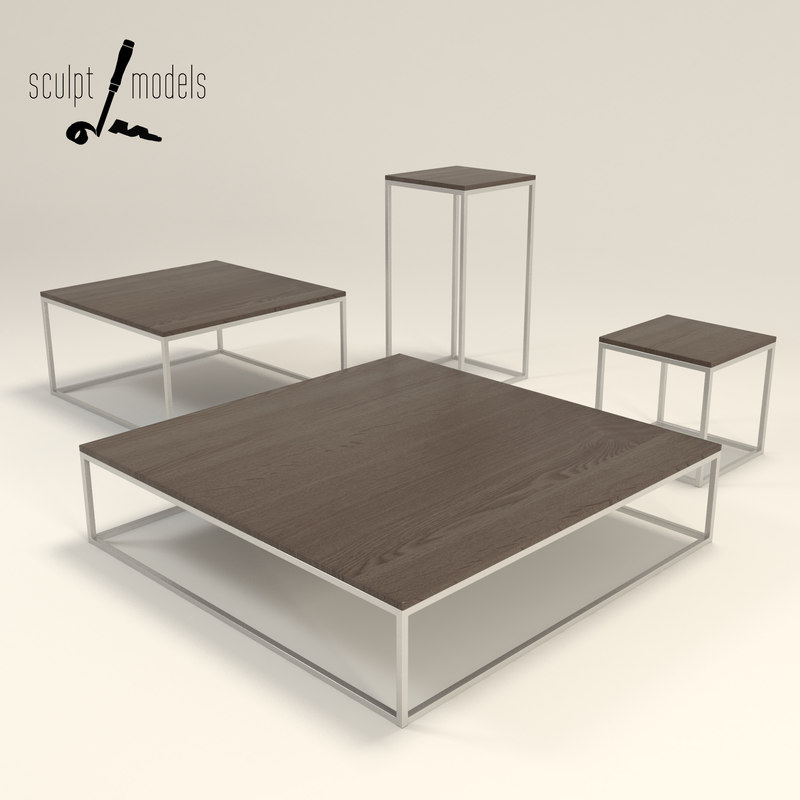 cube table 3d model