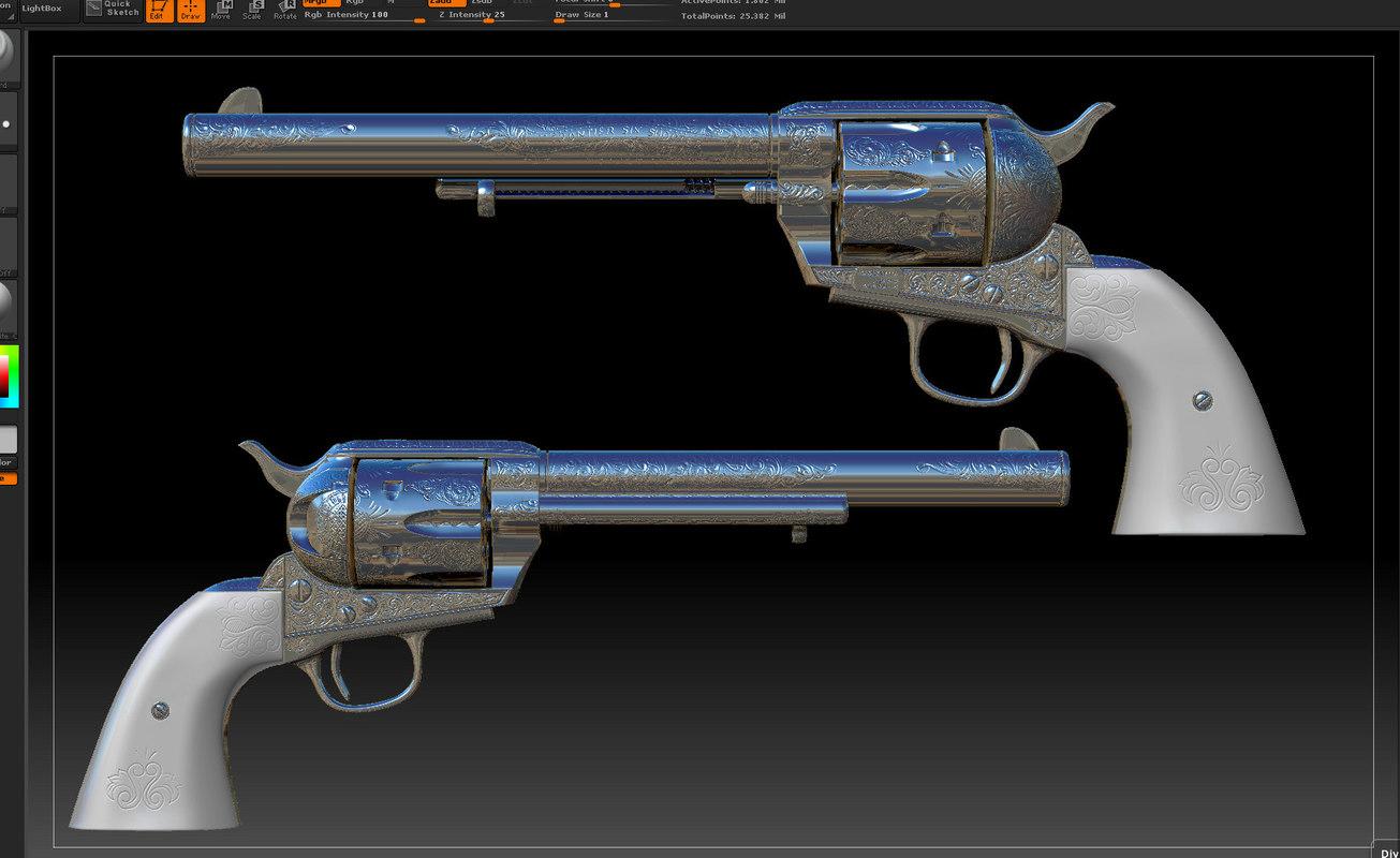 gun arabesque 3d 3ds