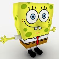 free sponge bob 3d model