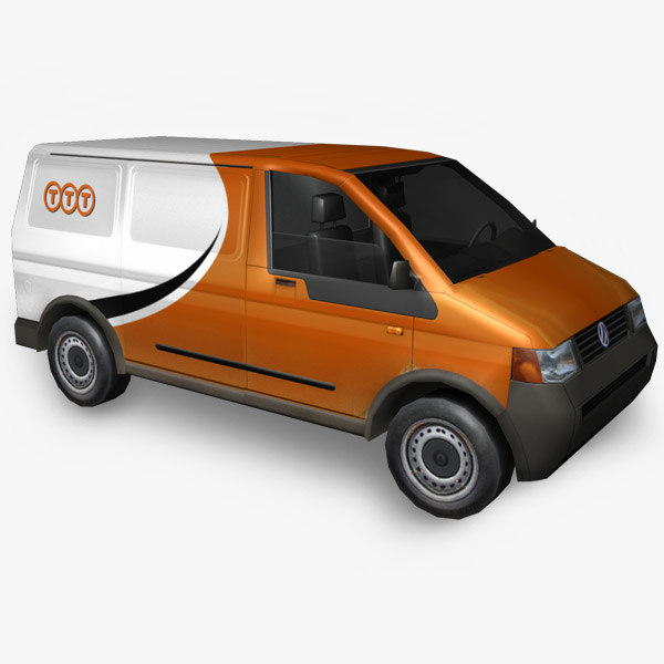 3d obj volkswagen postal service