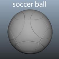 soccer ball obj
