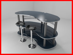 modern bar counter max