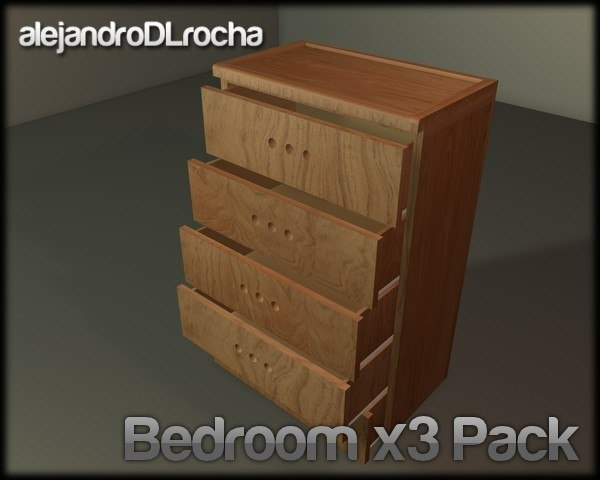 3d pack bed