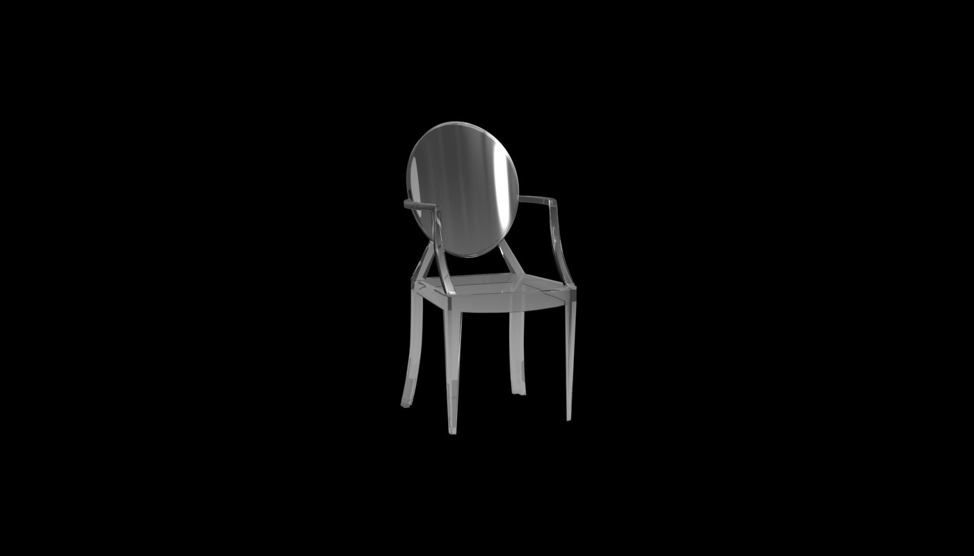 3ds max chair stark