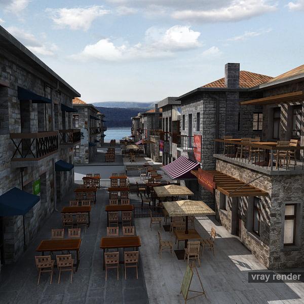 3ds max historical coast bar