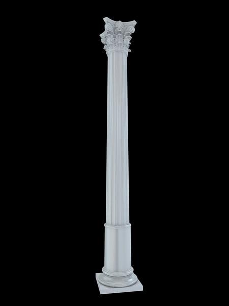 3ds max corinthian column