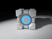 Weighted storge cube (portal 2)
