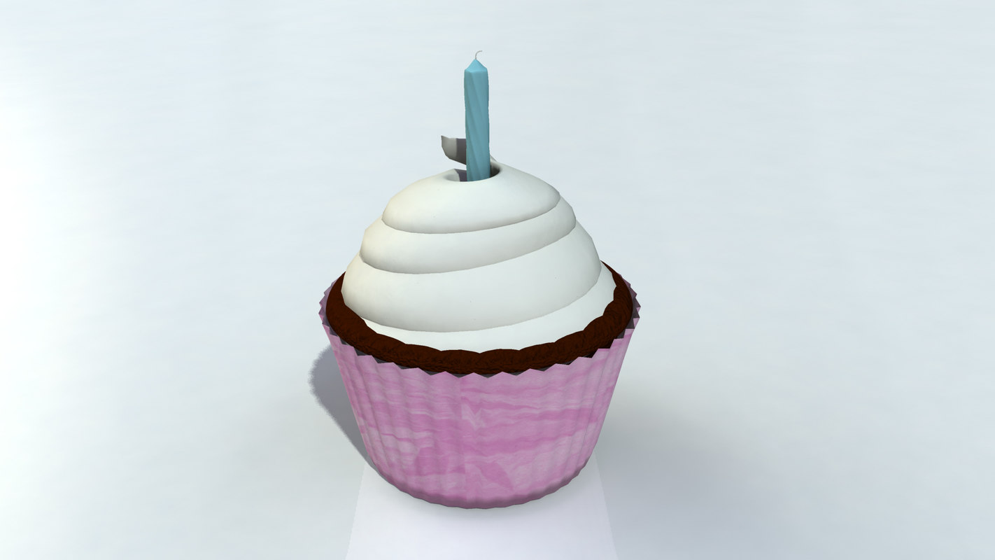 3d cupcake frosting