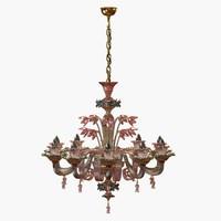 3d max lamps chandelier