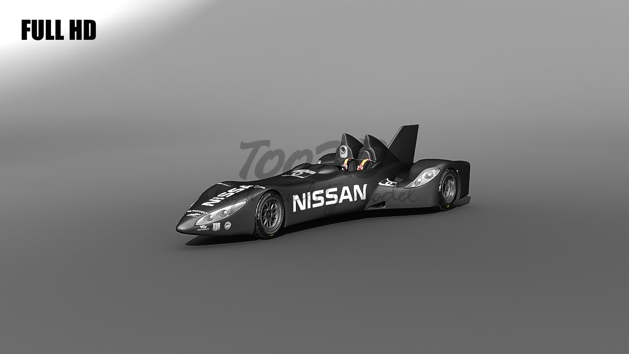 3dsmax nissan deltawing