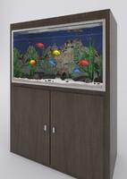 Aquarium with tropical fishes