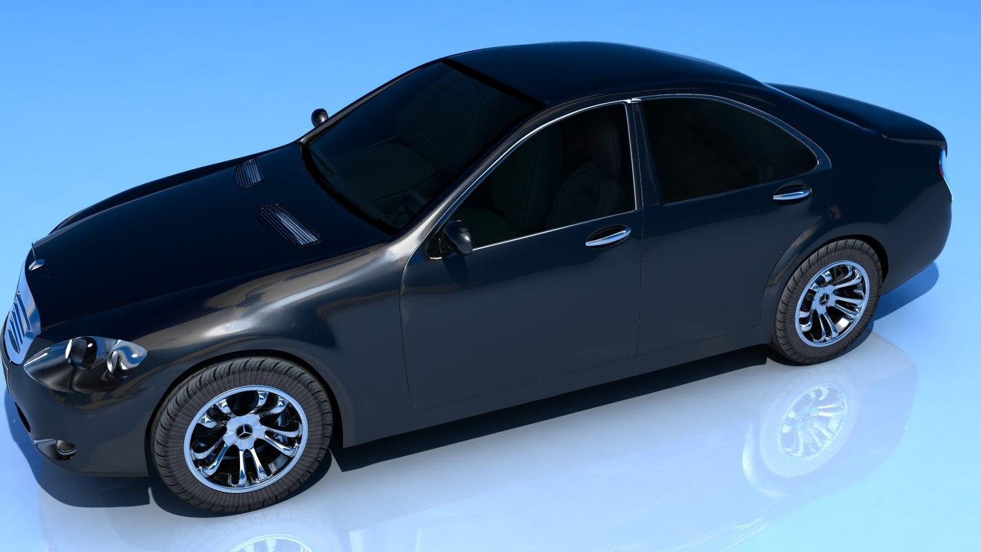 car 2011 3d obj