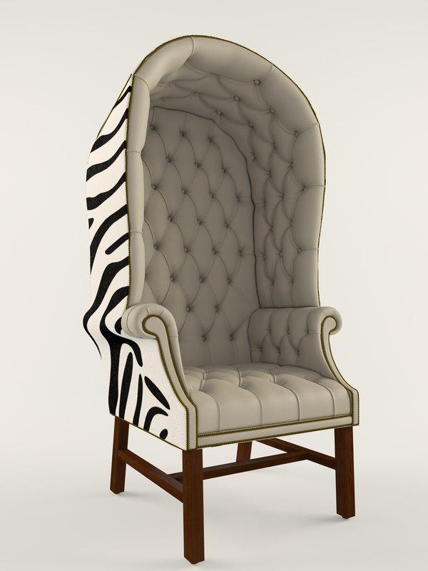 Chair Porter 3D Models for Download