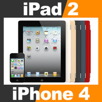 3d apple iphone 4 ipad