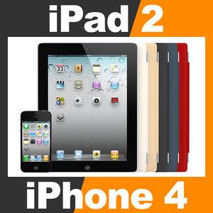 3d apple iphone 4 ipad