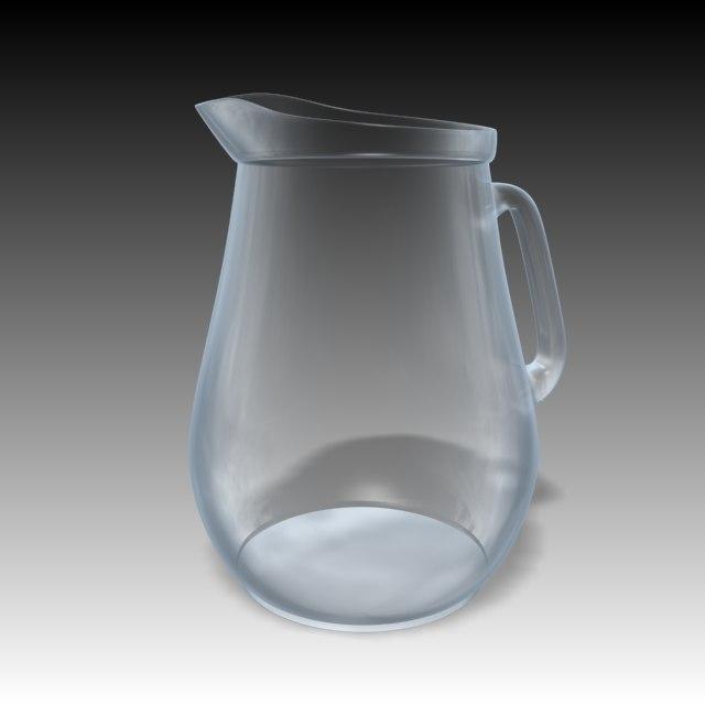 water jug 3d model