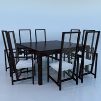 minimalist table 3d max