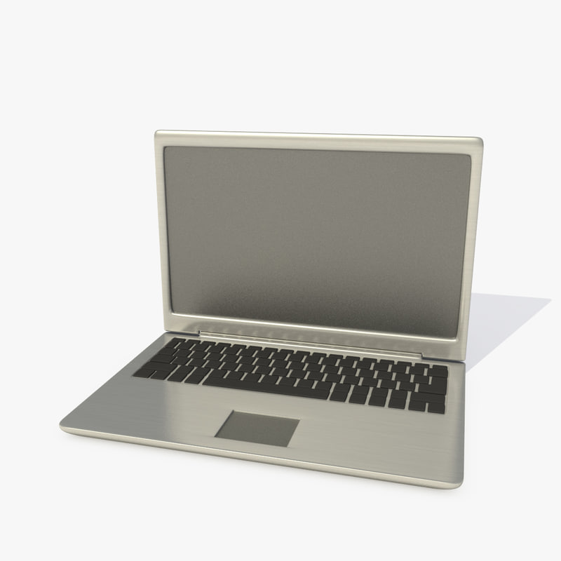 stand laptop 3d model