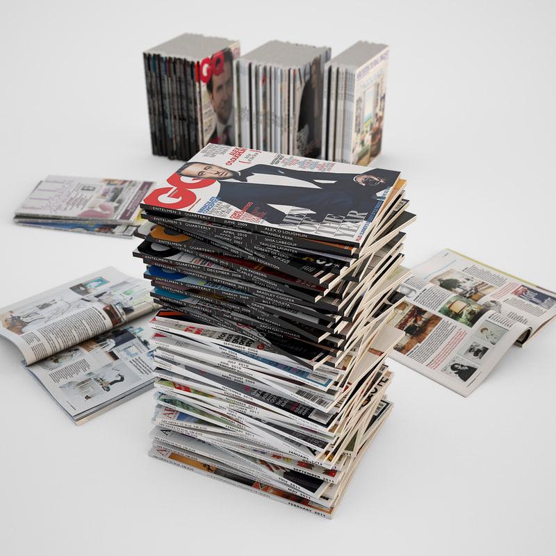3d photorealistic magazines