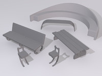 Benches Model Pack